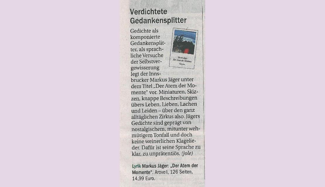 Tiroler Tageszeitung - 2014